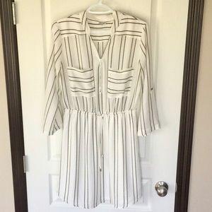 Kismet - Striped Shirt Dress
